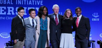 Clinton Global Initiative University 2019-2020 Program for Higher Education Student Leaders (Travel Assistance available)