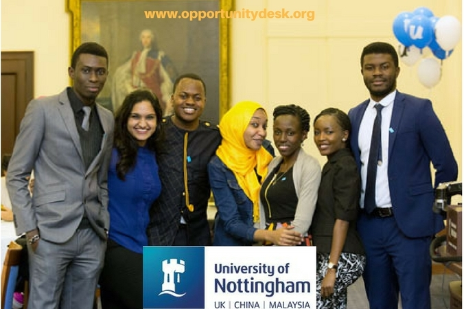 University of Nottingham Developing Solutions Masters