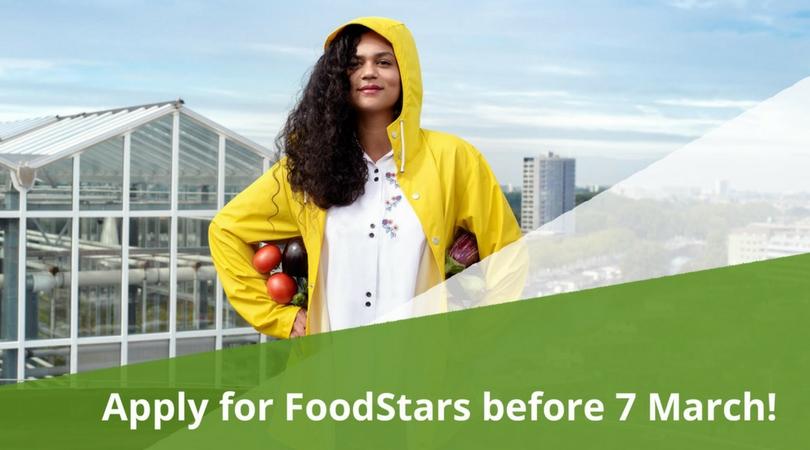 FoodStars Green Startup Accelerator Program in The Hague 2018