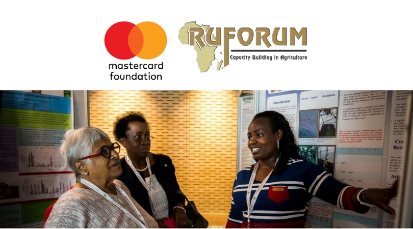 MasterCard Foundation at RUFORUM Scholarship Award 2019