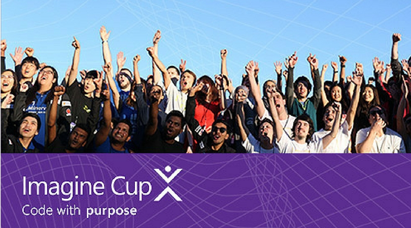 Microsoft Imagine Cup Global Competition 2018 (Win atrip to the World Finals and $100k Prize)