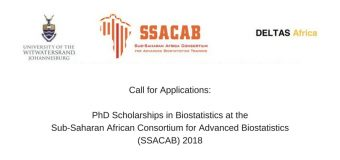 Apply: PhD Scholarships in Biostatistics at the Sub-Saharan African Consortium for Advanced Biostatistics (SSACAB) 2018