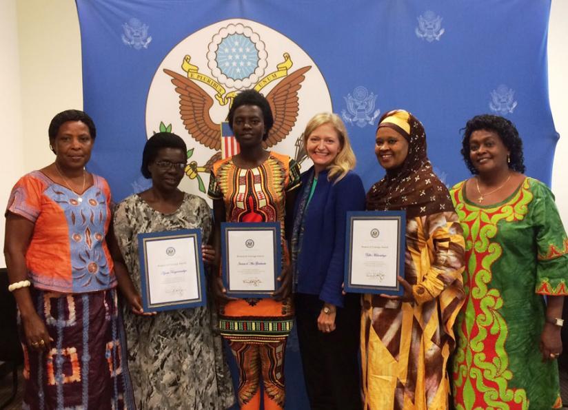 Call for Nomination: US Embassy Rwanda Woman of Courage Award 2018