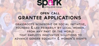 Spark Seed Grants for Grassroots Women's Organizations 2018 (Up to $5,000 in funding)