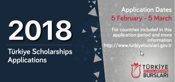 Apply for Türkiye International Scholarships to Study in Turkey 2018