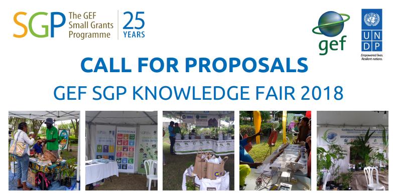 Call for Proposals: UNDP/GEF SGP Barbados Knowledge Fair 2018