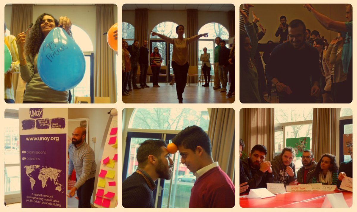 UNOY Peacebuilders Training of Trainers on Transforming Narratives in The Netherlands (Funded)