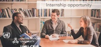 UNU-CRIS Internship Programme 2018 for Graduate Students