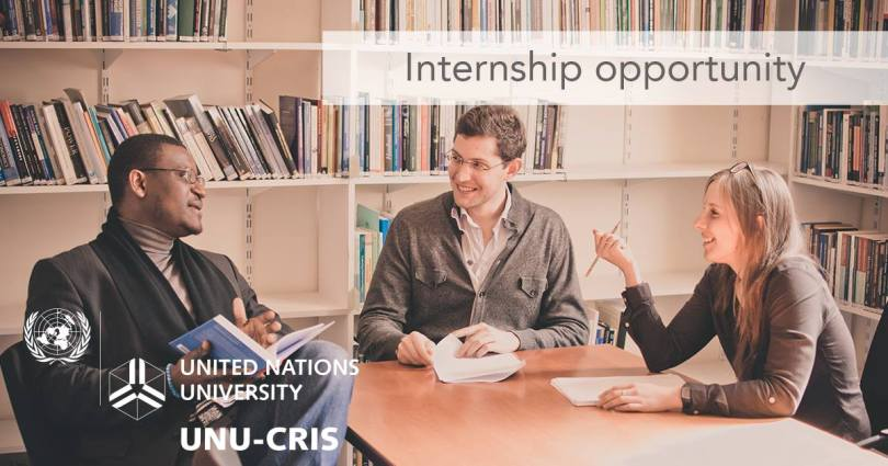 UNU-CRIS Internship Programme 2019 for Graduate students