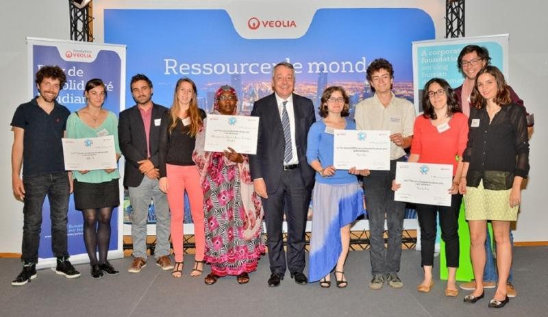 Veolia Foundation Student Solidarity Award 2018 (Total grant of 15,000 Euros)