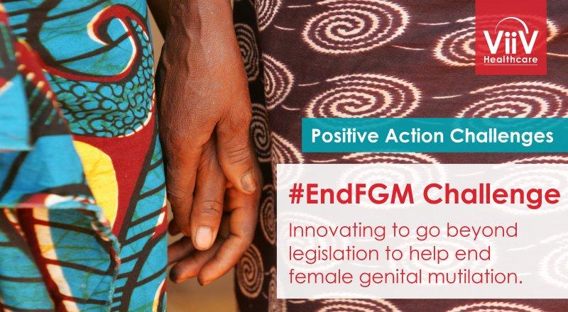 ViiV Healthcare's #EndFGM Positive Action Challenge 2018 ($25,000 prize)