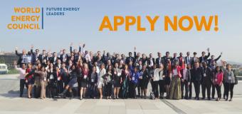 World Energy Council's Future Energy Leaders' Programme (FEL-100) 2018