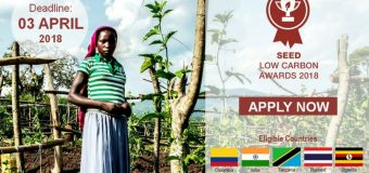 SEED Low Carbon Awards 2018 (Win $5,000 and more)