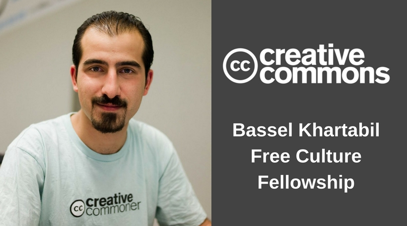 Creative Commons' Bassel Khartabil Free Culture Fellowship 2018 ($50,000 Stipend and more)