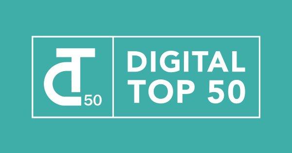 Digital Top 50 Awards 2018 for Europe's Top Tech Startups & Scaleups