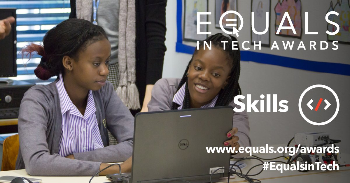 EQUALS in Tech Awards 2018 for Projects that Empower Women and Girls Worldwide