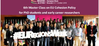 EU Regions Week 2018 Master Class on EU Cohesion Policy for PhD Students and Early Career Researchers (Fully-funded)