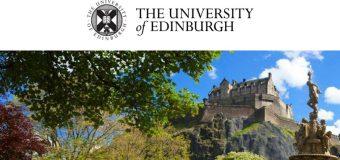 Edinburgh Global Online Distance Learning Masters Scholarships 2018