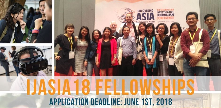 Apply for IJAsia18 Fellowships to attend the Asian Investigative Journalism Conference in Seoul