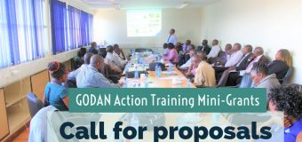 Call for Proposals: GODAN Action Training Mini-Grants 2018