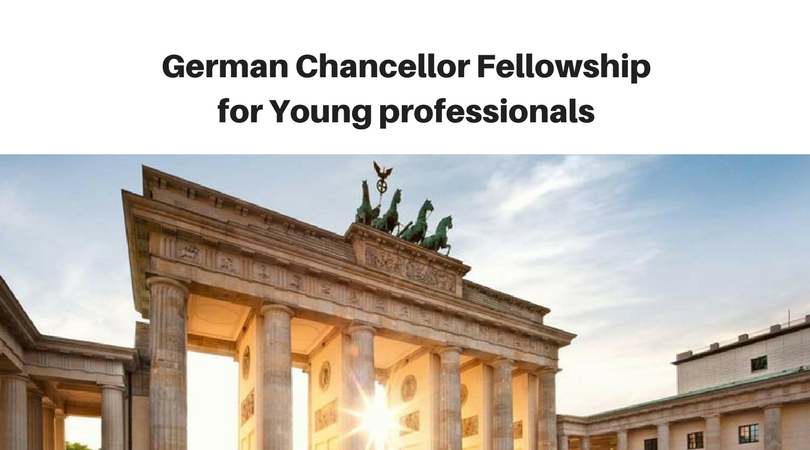 Alexander von Humboldt Foundation's German Chancellor Fellowship 2018 for Young professionals (Fully-funded)