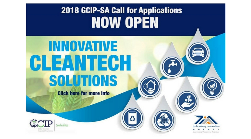 Global Cleantech Innovation Programme for South Africa Entrepreneurs 2018 (Win cash prize and a trip to San Francisco)