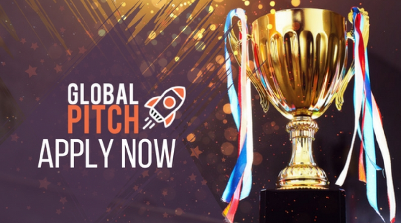 Apply for Global Pitch 2018 – Online Pitching Competition for Startups
