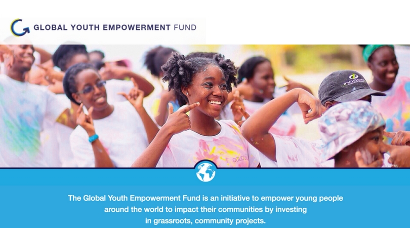 Global Youth Empowerment Fund 2018 for Young People around the World