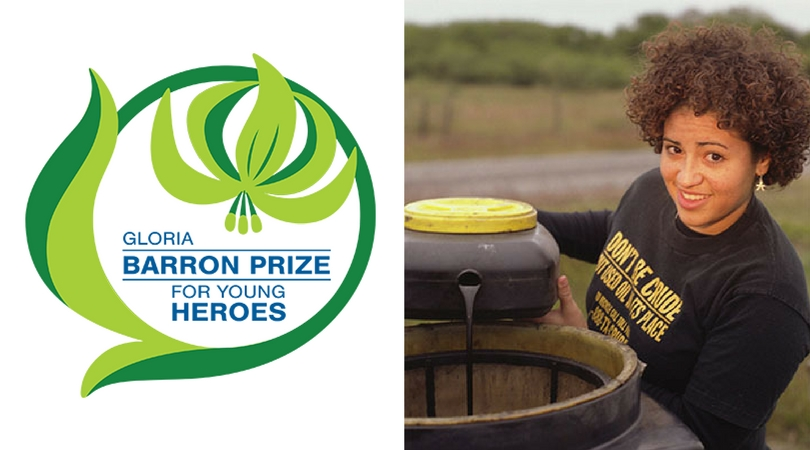 Gloria Baron Prize for Young Heroes 2018 ($10,000 Award)