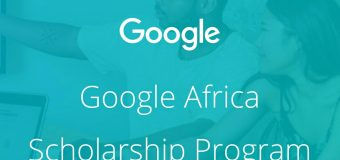 Udacity Google Africa Scholarship Program 2018