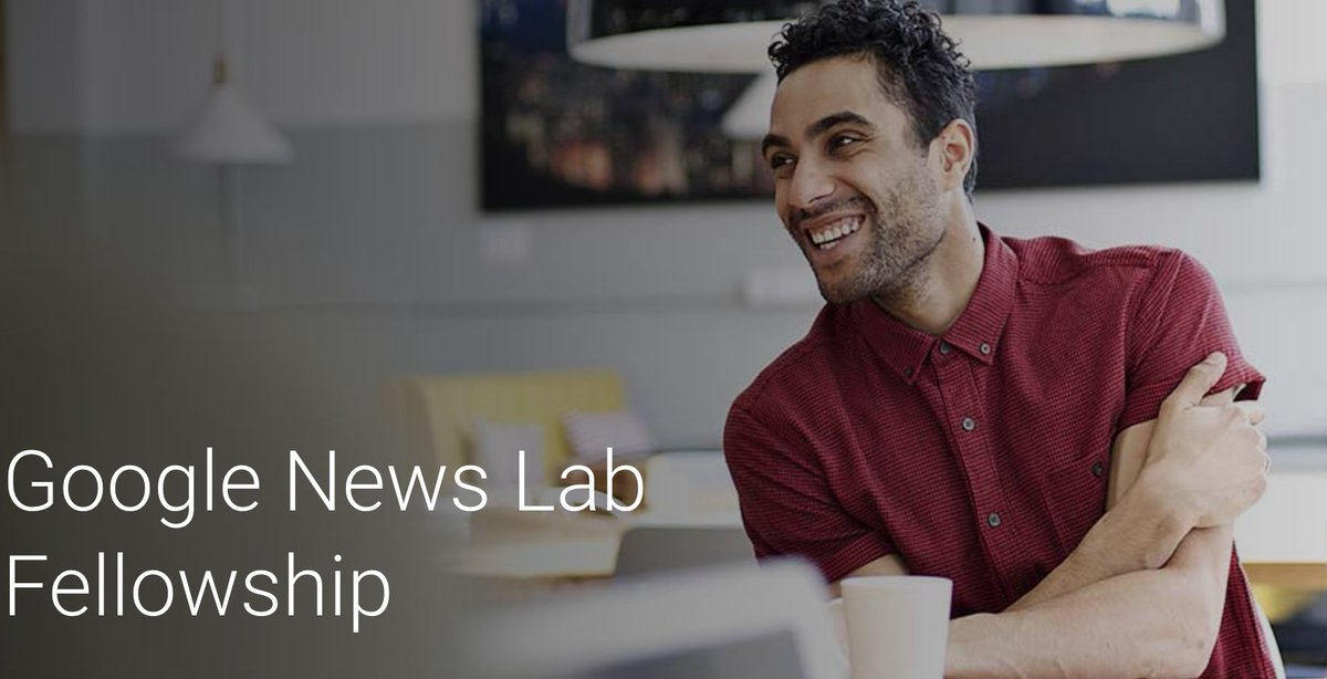 Google News Lab Fellowship 2018 (Newsroom Placements with €5,500 stipend)