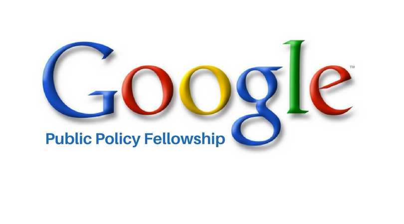 Google North America Public Policy Fellowship 2018