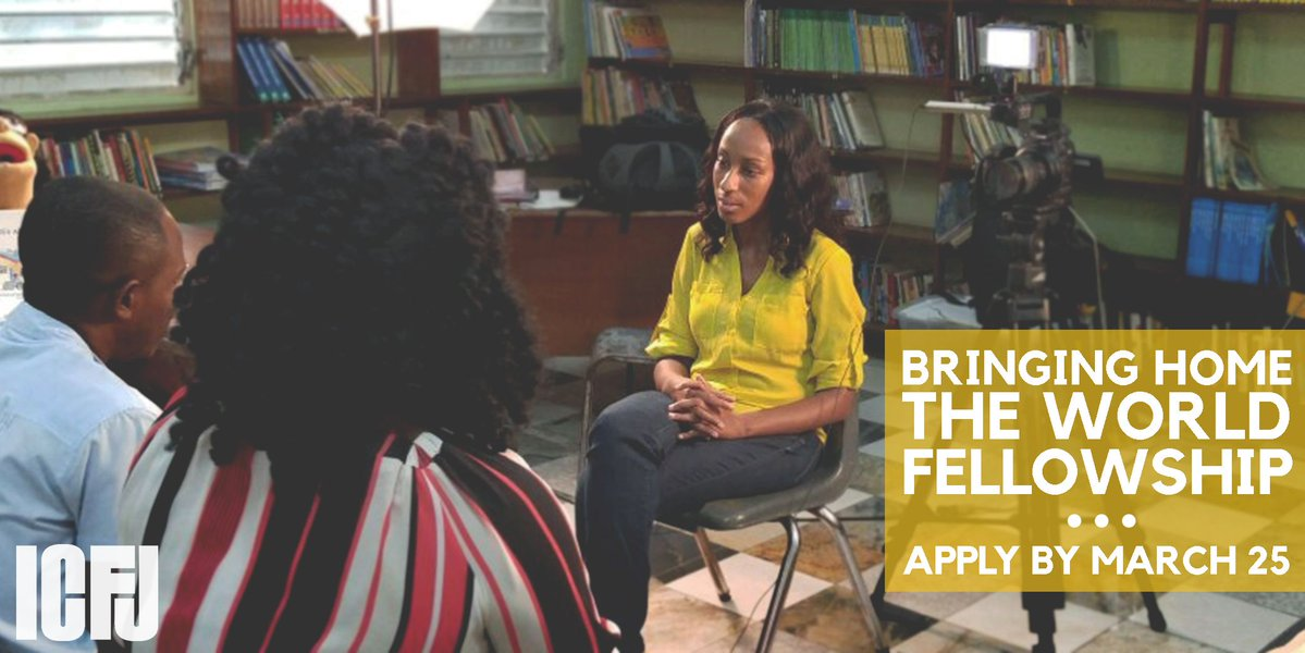 ICFJ's Bringing Home the World International Reporting Fellowship 2018 for U.S. Minority Journalists