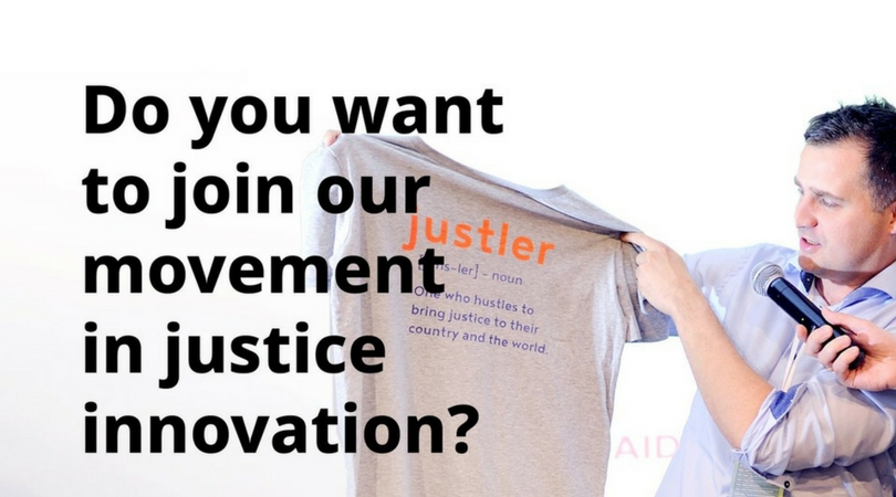 Apply to the Innovating Justice Challenge 2018