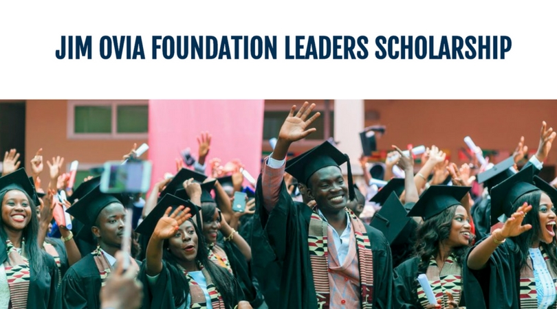 JIM OVIA Foundation Leaders Scholarships