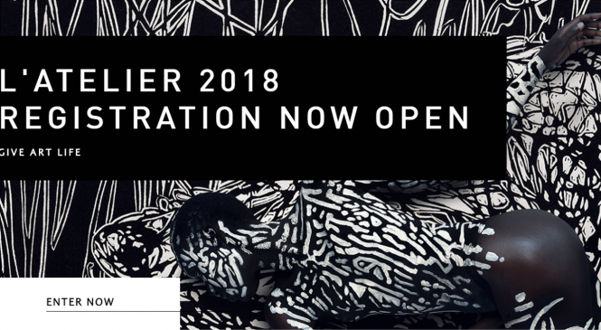 L'Atelier Art Competition 2018 (Win R330,000 +Trip to Paris)