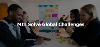 MIT Solve Global Challenges 2018 for Tech Entrepreneurs