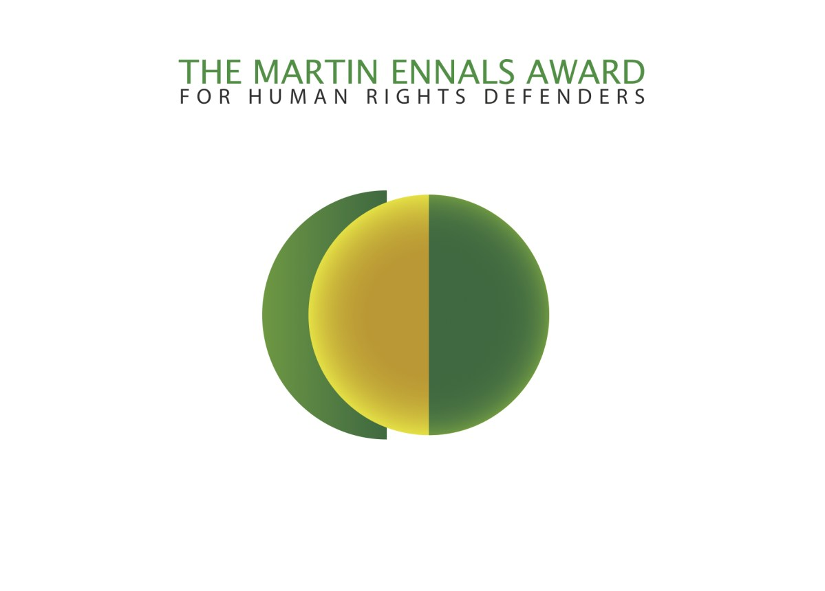 Martin Ennals Award for Human Rights Defenders 2019