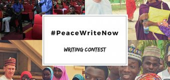 Embassy of Ireland in Nigeria #PeaceWriteNow Writing Contest 2018