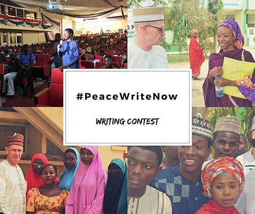 Embassy of Ireland in Nigeria #PeaceWriteNow Writing Contest 2018