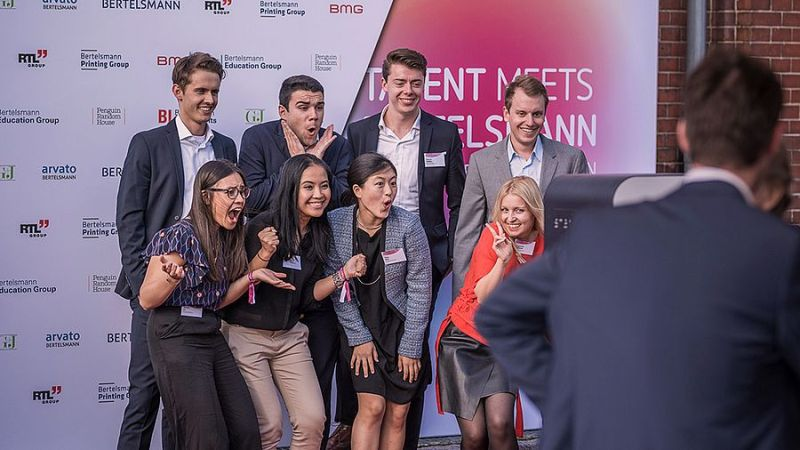 Apply for the Talent Meets Bertelsmann (TMB) 2018 in Berlin (Fully-funded)