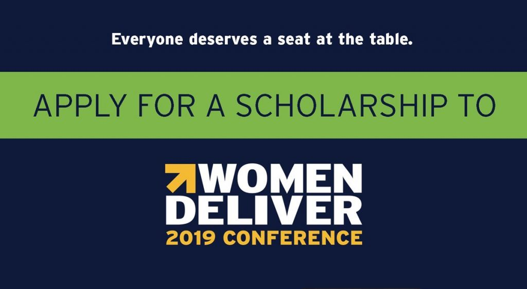 women deliver 2019 conference scholarship program  fully