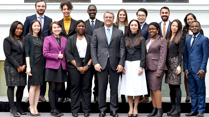 World Trade Organization Young Professionals Programme 2019