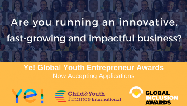 Ye! Global Youth Entrepreneur Awards 2018