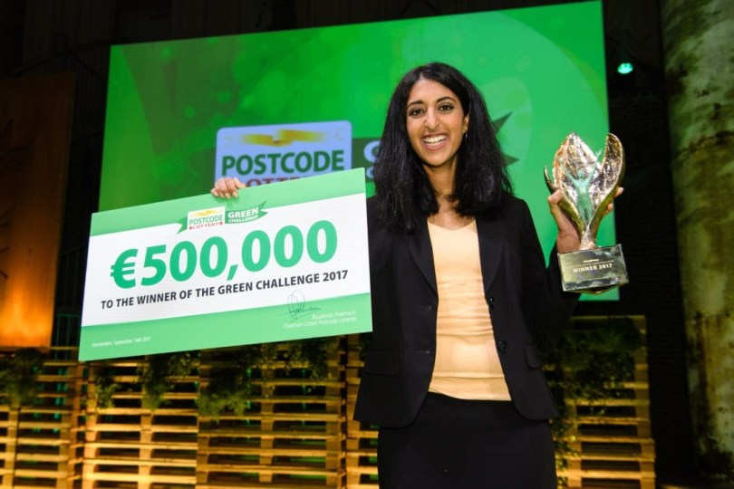 Postcode Lottery Green Challenge 2018 (Win €500,000 for your Start-up)