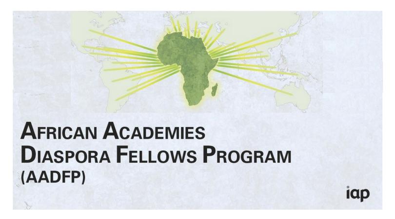InterAcademy Partnership's 2018 African Academies Diaspora Fellows Program (Fully-funded)