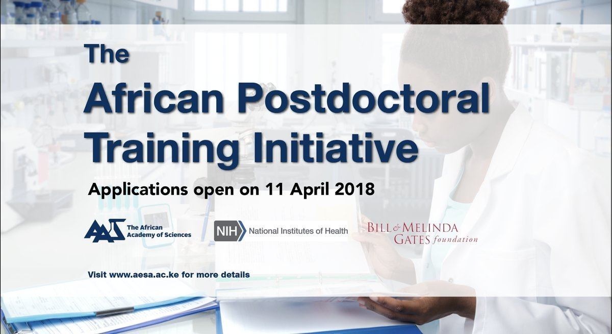 African Postdoctoral Training Initiative (APTI) Fellowship Program 2018