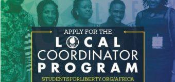 African Students For Liberty Local Coordinators Program 2018/19
