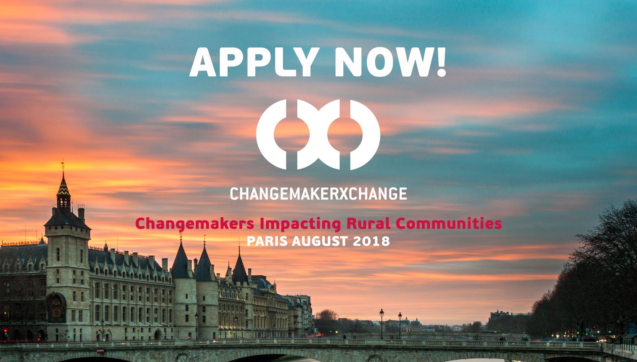 Ashoka ChangemakerXchange Summit 2018 in Paris, France (Changemakers Impacting Rural Communities)