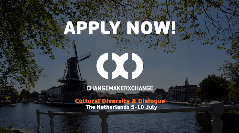 ChangemakerXchange for Cultural Diversity & Dialogue 2018 Summit in Amsterdam (Funded)